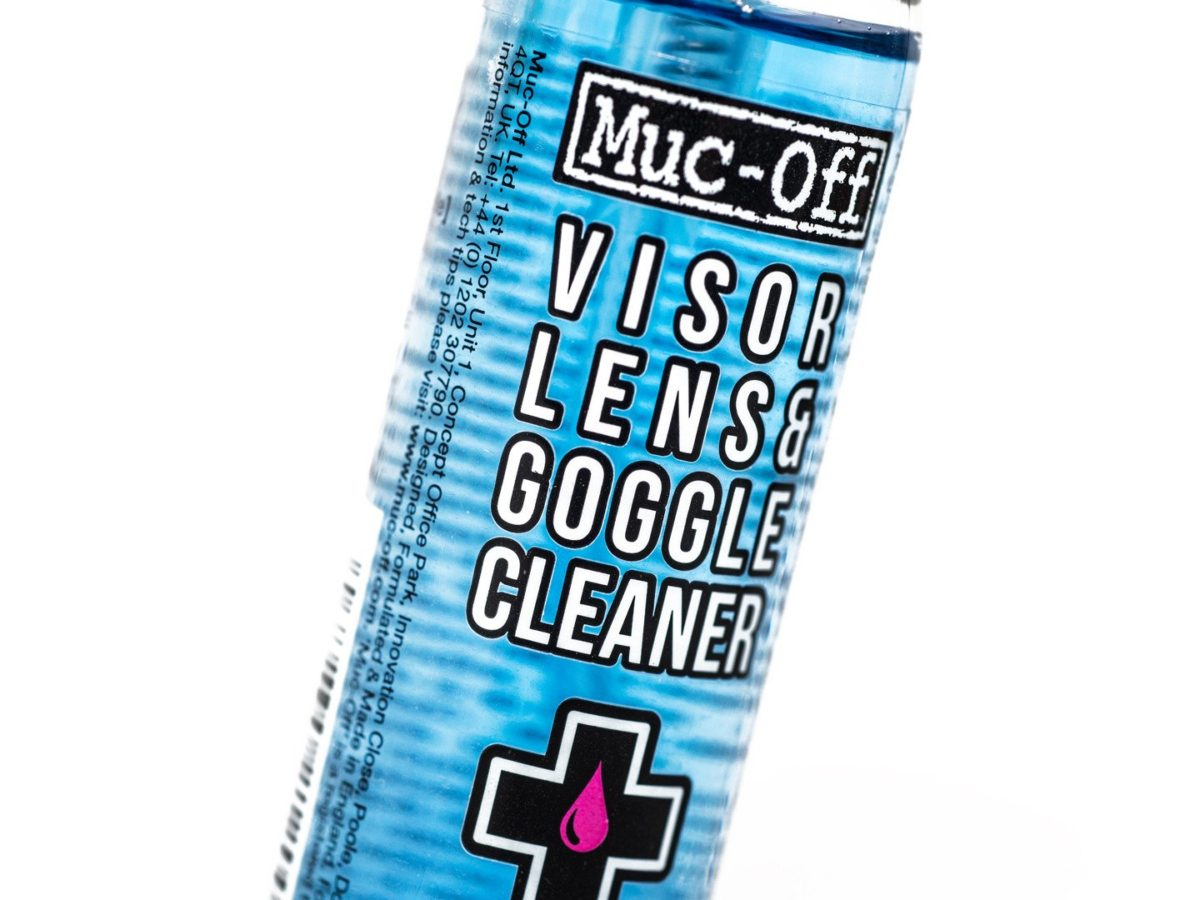 MUC-OFF Visor, Lens and Goggle Cleaner
