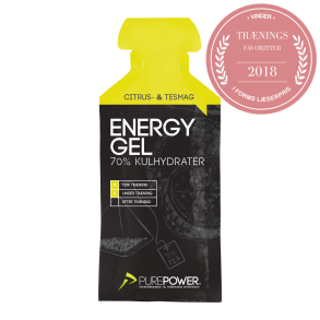 PUREPOWER Energy gel Lemon tea