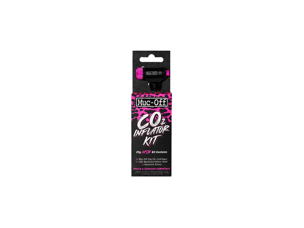 MUC-OFF CO2 pump Road Inflator Kit