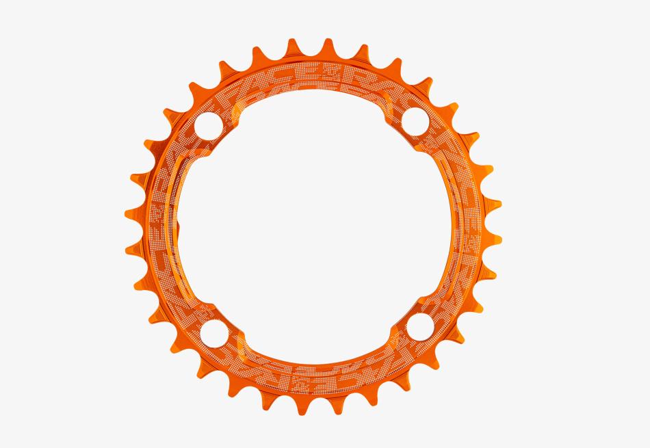 Race Face Narrow Wide Klinge 104bcd 32T Orange