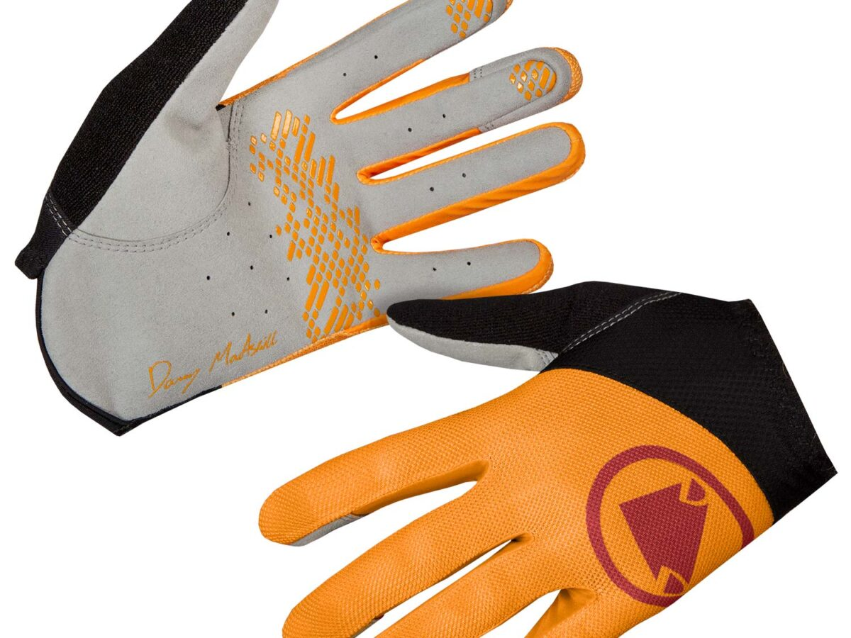 Hummvee Lite Icon Glove: Tangerine – L