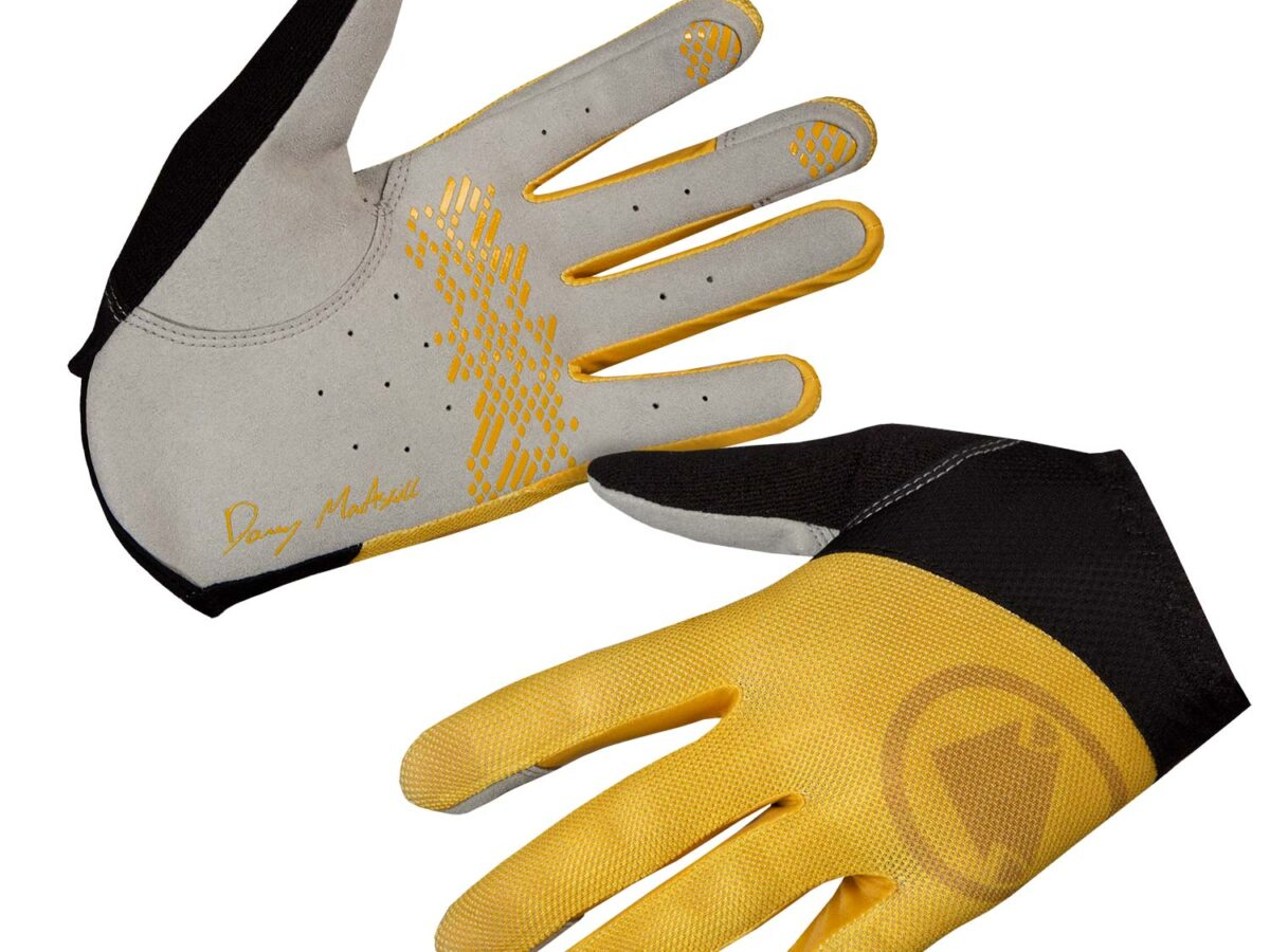 Hummvee Lite Icon Glove: Mustard – L