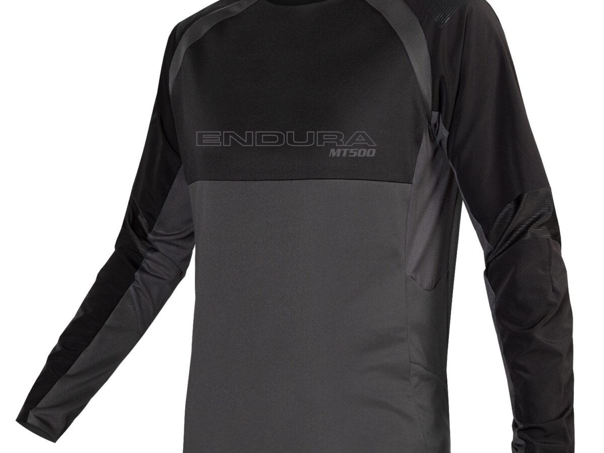 MT500 Burner L/S Jersey II: Black – L