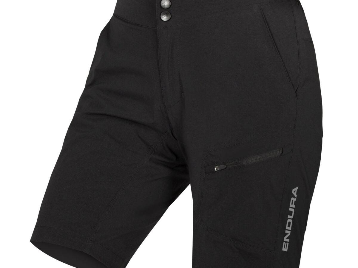 Women's Hummvee Lite Short with Liner: Black – XL
