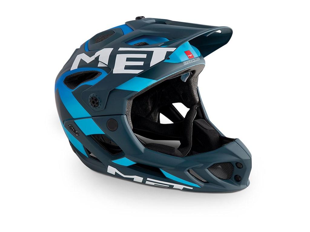 MET Helmet MTB – Full face Parachute M
