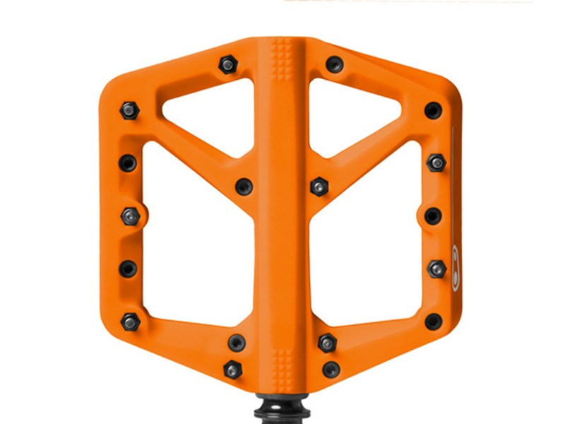 CRANKBROTHERS Pedal Stamp 1 Large Orange