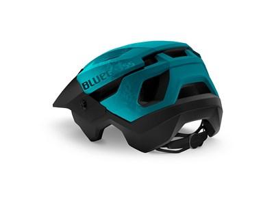 BLUEGRASS HELMET MTB/Trail/Enduro ROGUE 56-58 Petrol Blue/Matt